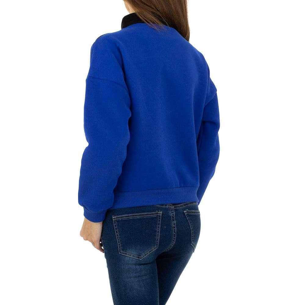Hanorac de dama de la Glo storye - albastru - image 3