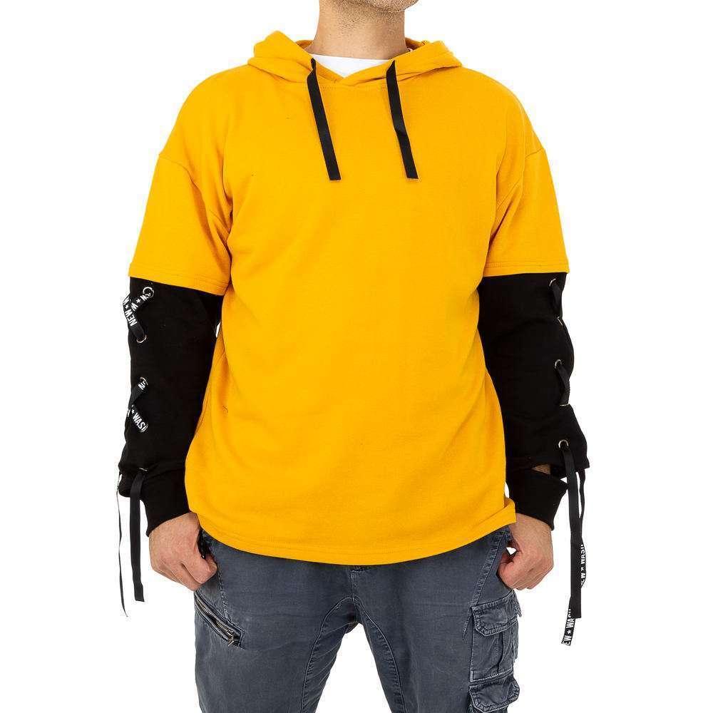 Pulover bărbătesc marca Glo storye - galben