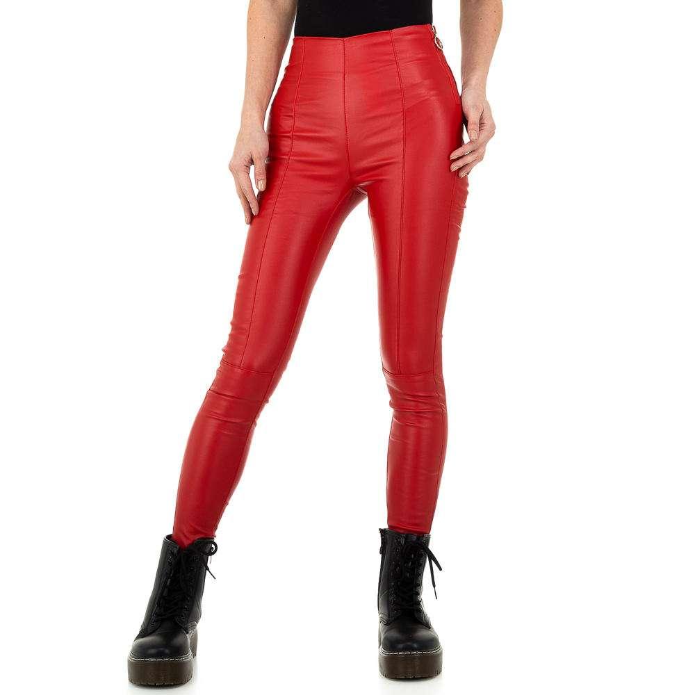 Damen Hose von Daysie - rosu