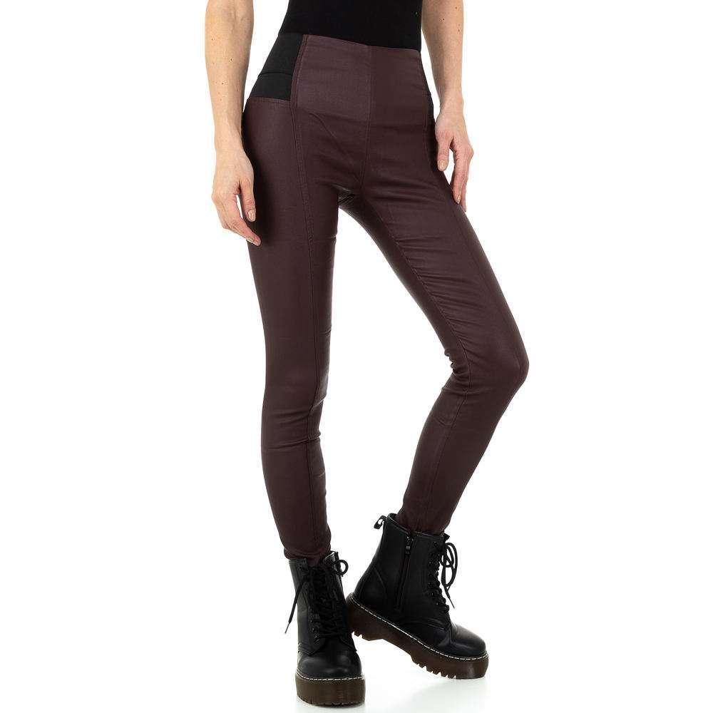 Pantaloni pentru femei de Laulia - vin