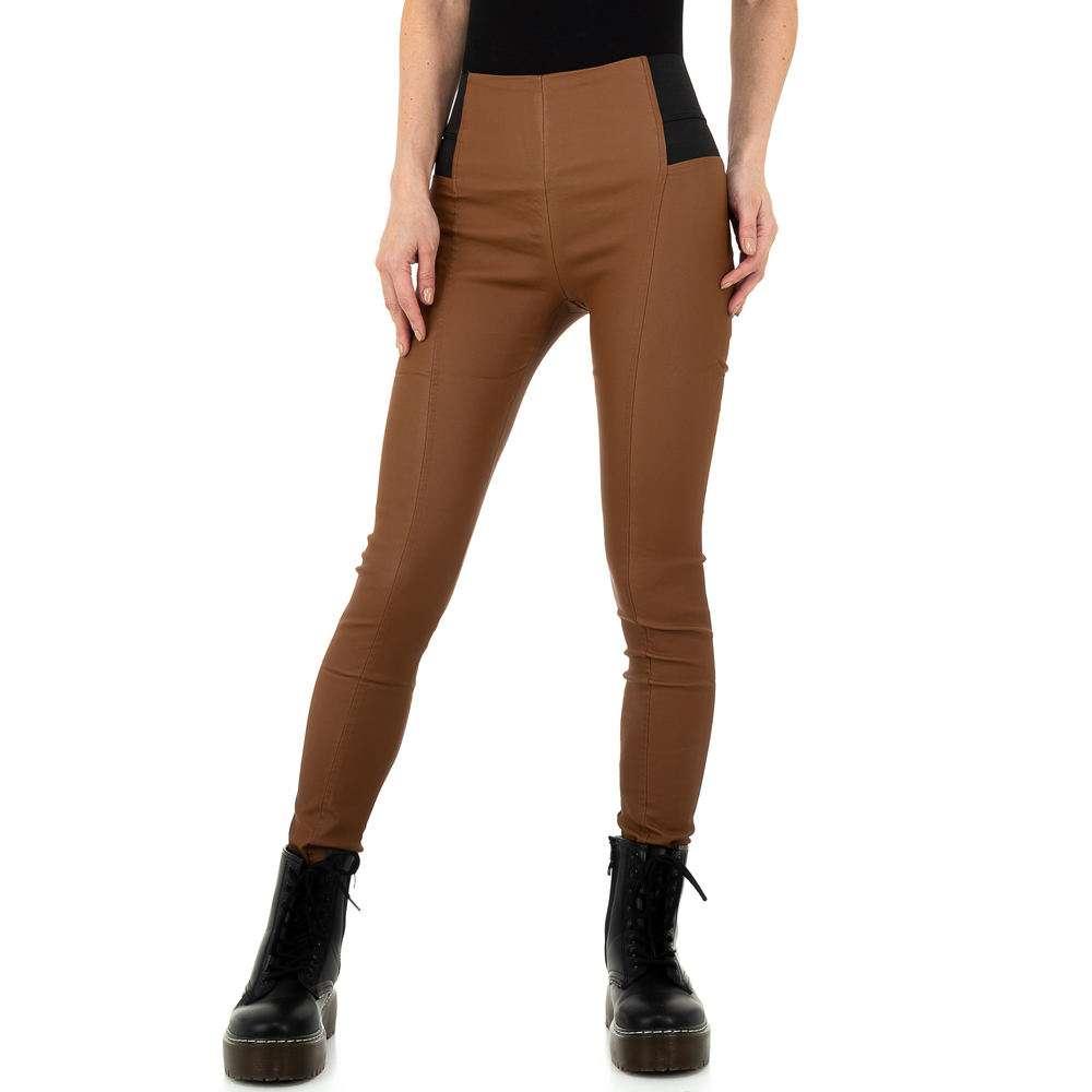 Pantaloni femei Laulia - maro - image 1