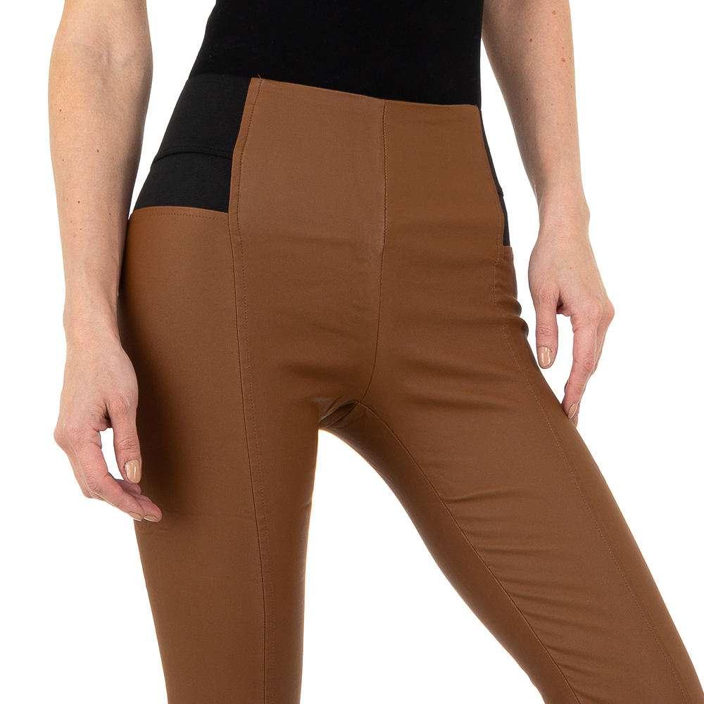 Pantaloni femei Laulia - maro - image 4