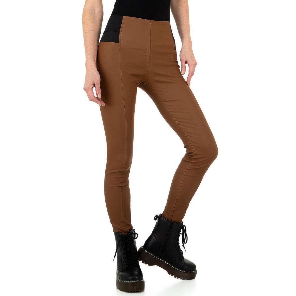 Pantaloni femei Laulia - maro - image 5
