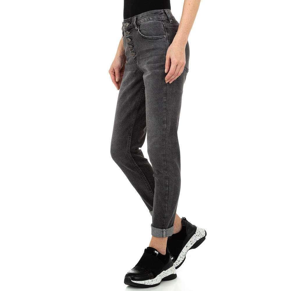 Pantaloni de dama Laulia - gri - image 2