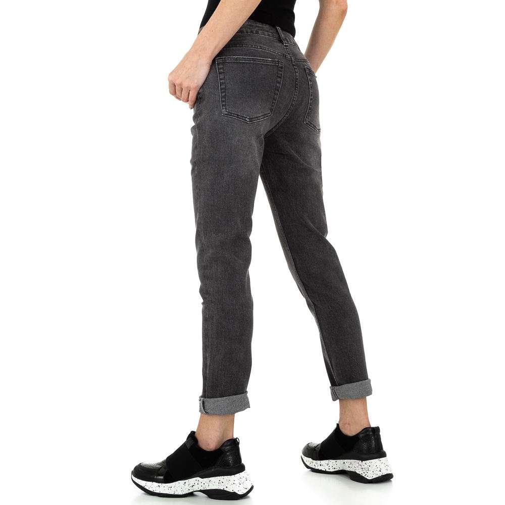 Pantaloni de dama Laulia - gri - image 3