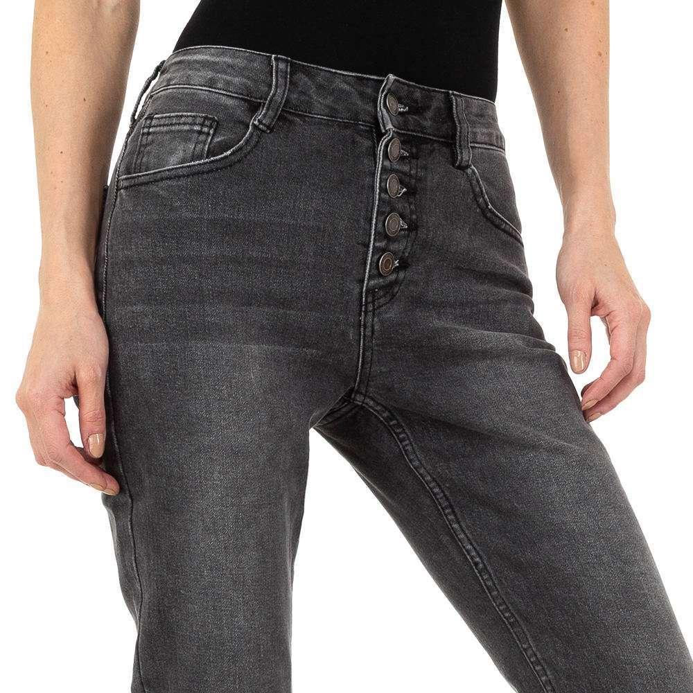 Pantaloni de dama Laulia - gri - image 4