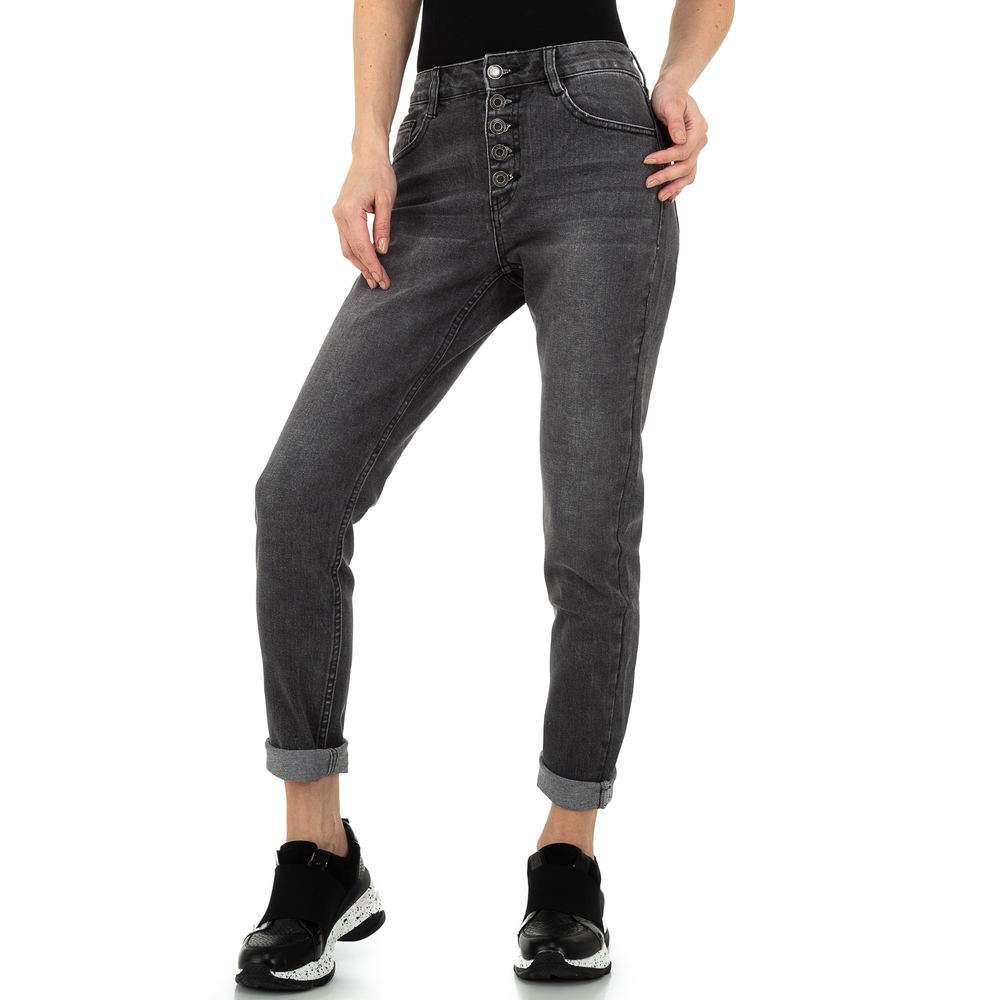Pantaloni de dama Laulia - gri - image 5