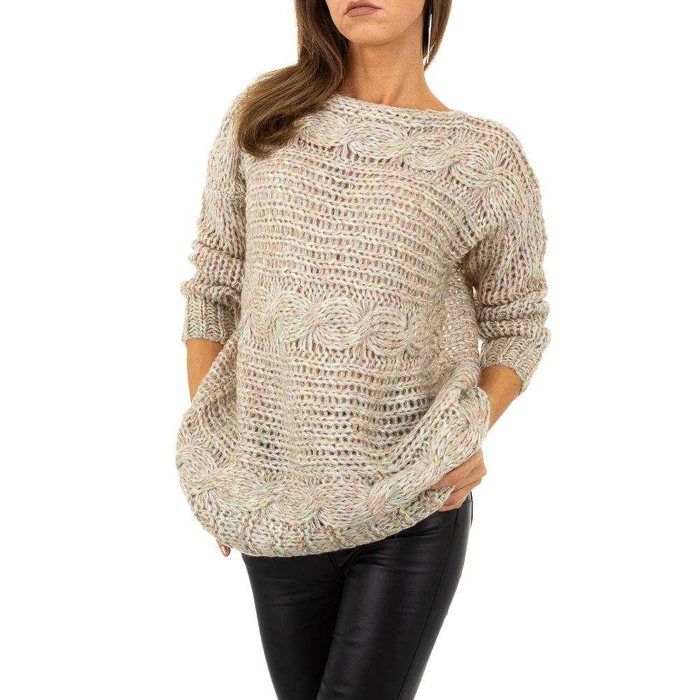 Pulover pentru femei de la Whoo Fashion Gr. O singură mărime - bej - image 4
