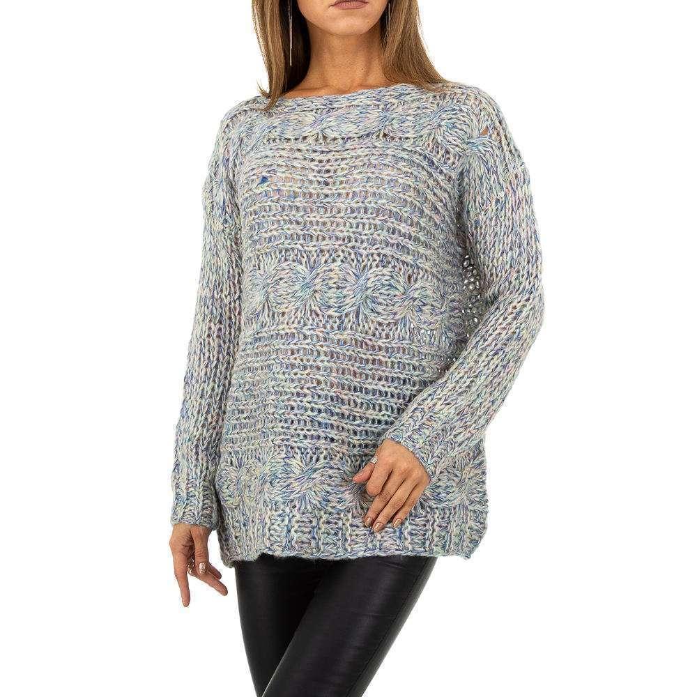 Pulover pentru femei de la Whoo Fashion Gr. O singură mărime - bleu - image 1
