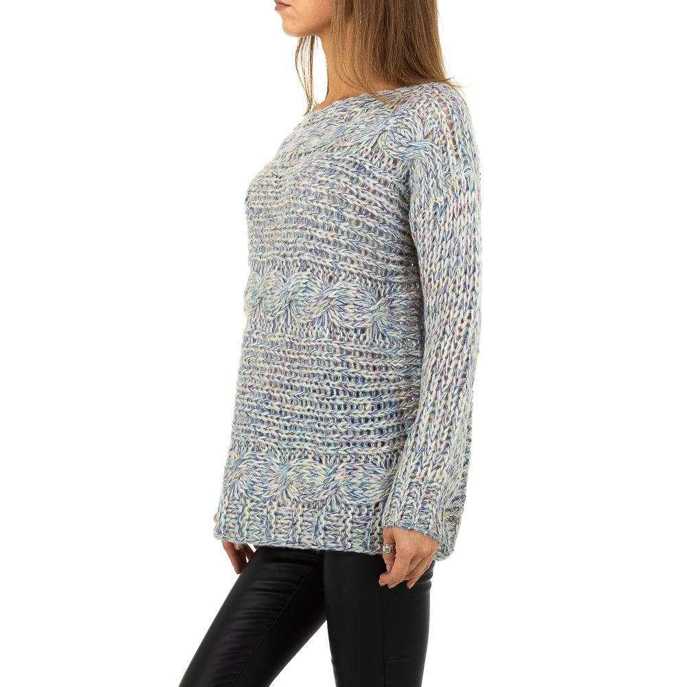Pulover pentru femei de la Whoo Fashion Gr. O singură mărime - bleu - image 2