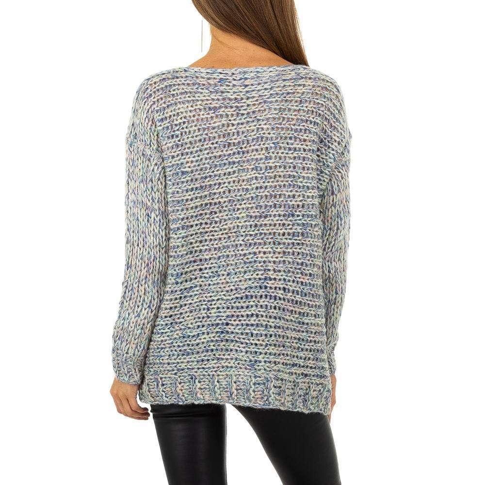 Pulover pentru femei de la Whoo Fashion Gr. O singură mărime - bleu - image 3