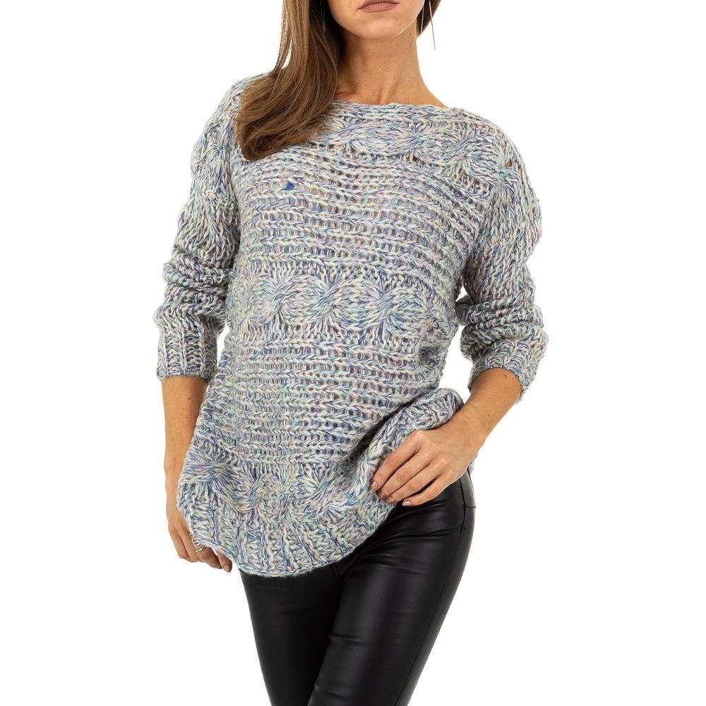 Pulover pentru femei de la Whoo Fashion Gr. O singură mărime - bleu - image 4