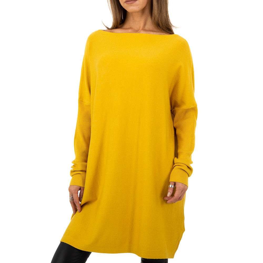 Pulover pentru femei de la Whoo Fashion Gr. O mărime - galben - image 5
