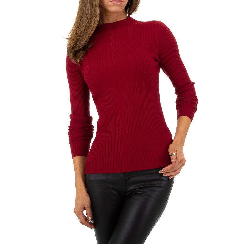 Pulover pentru femei de la Whoo Fashion Gr. O singură mărime - roșu