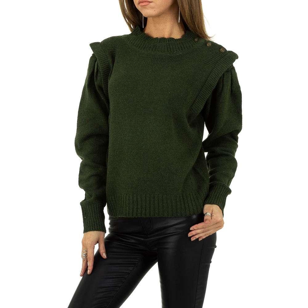 Pulover pentru femei de la Drole de Copine - verde