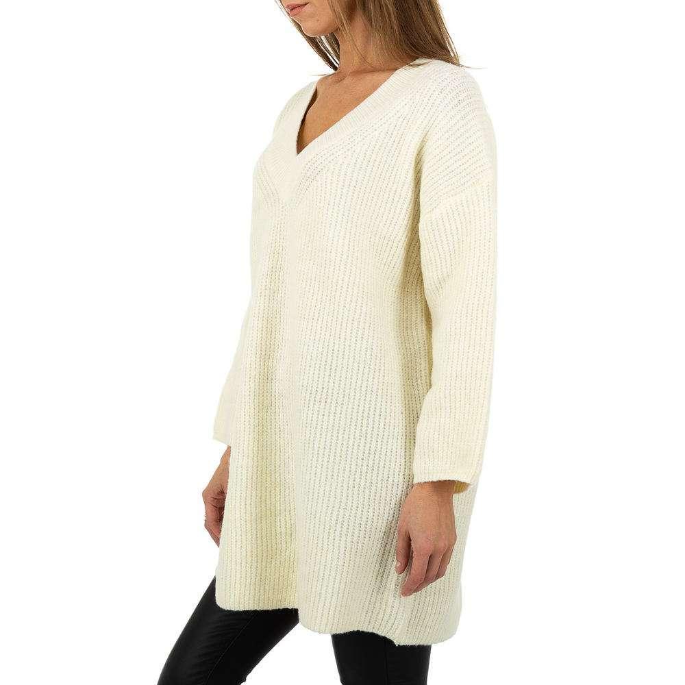 Pulover pentru femei by JCL Gr. O singură mărime - alb - image 2