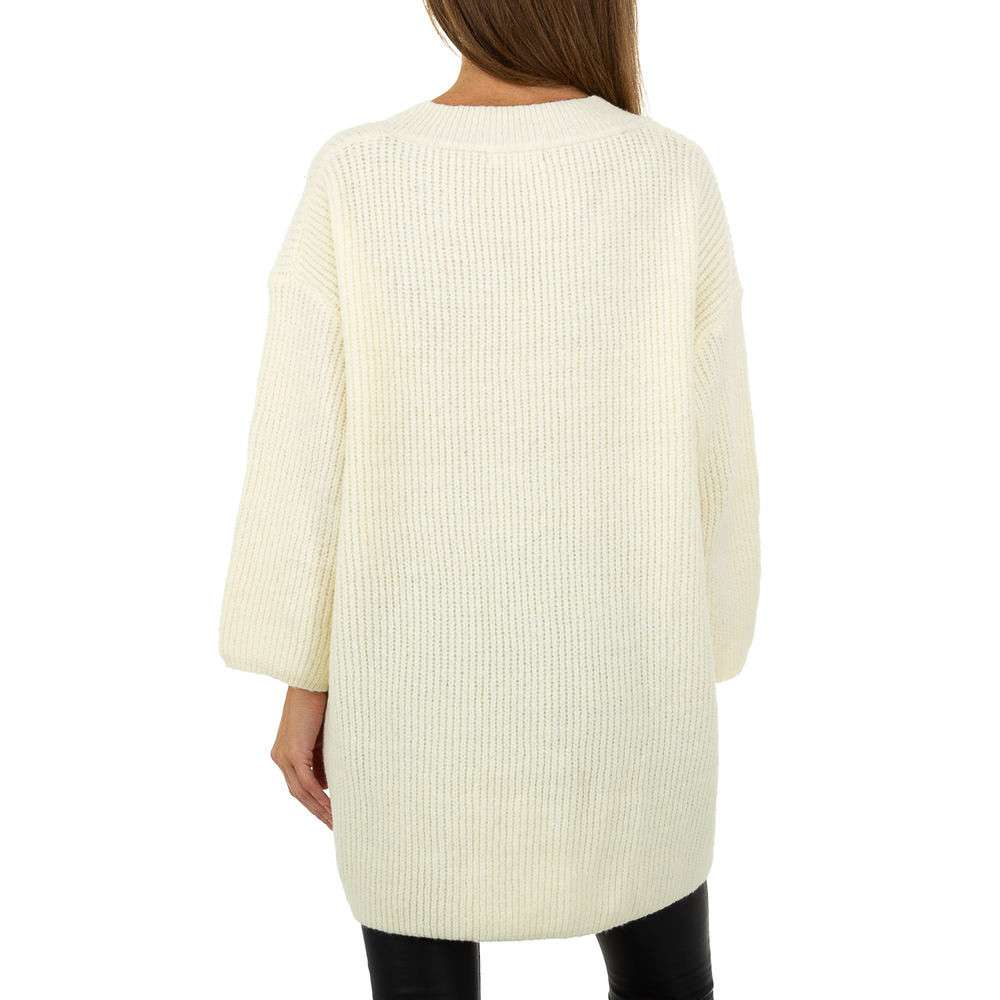 Pulover pentru femei by JCL Gr. O singură mărime - alb - image 3