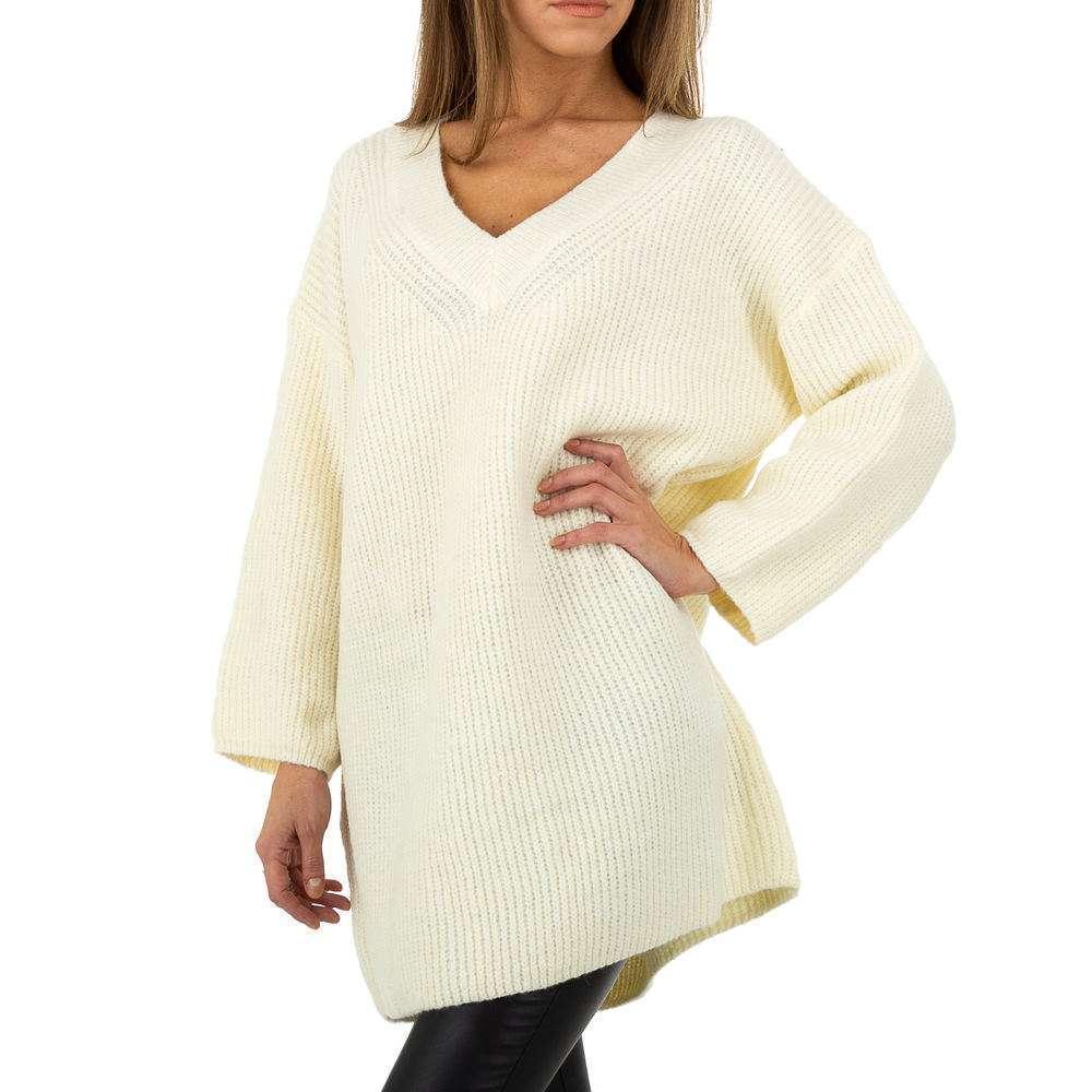 Pulover pentru femei by JCL Gr. O singură mărime - alb - image 4