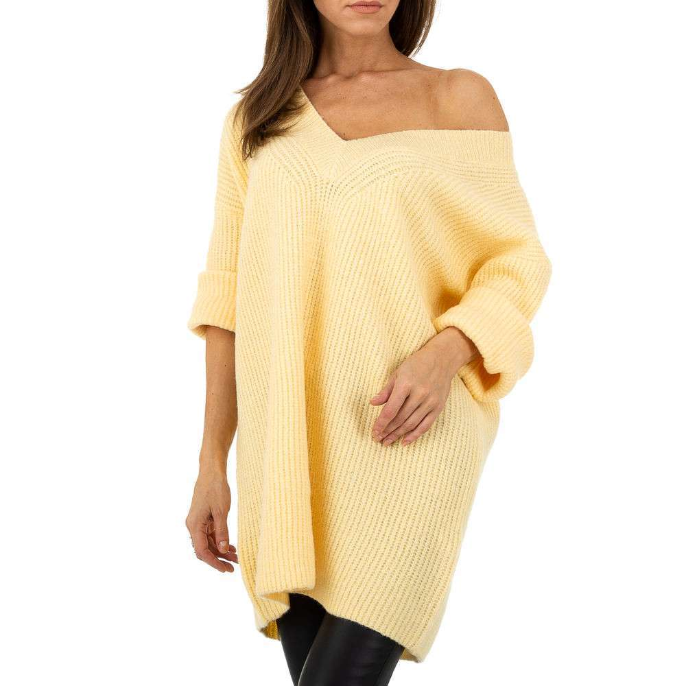 Pulover pentru femei by JCL Gr. O mărime - galben