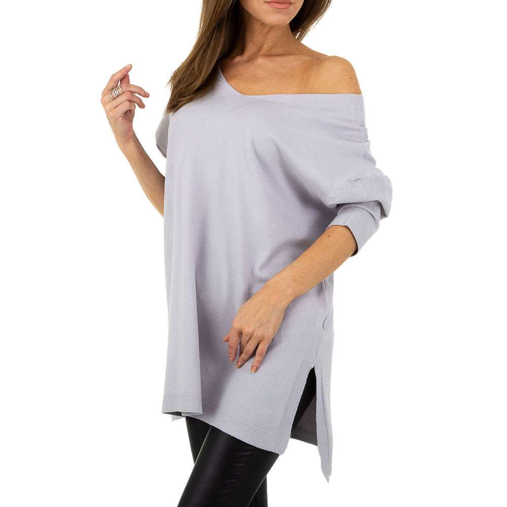 Pulover pentru femei by JCL - violet - image 1