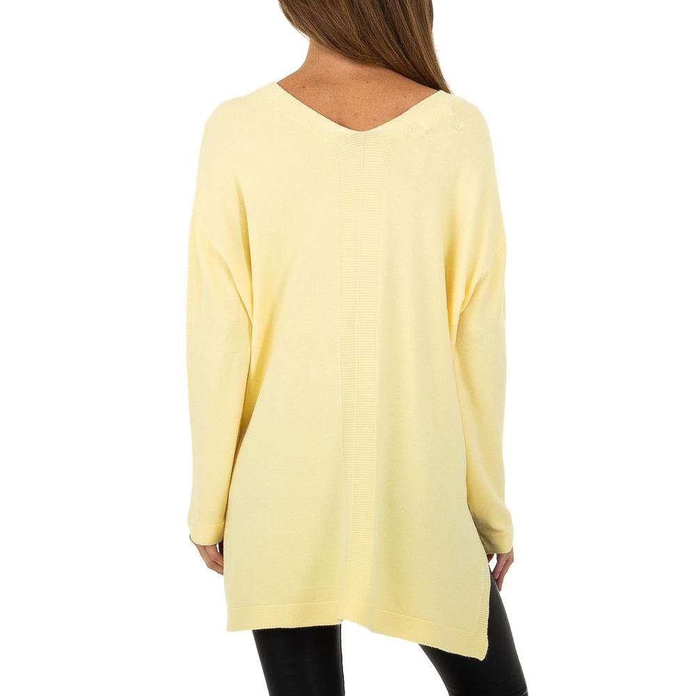 Pulover pentru femei by JCL - galben - image 3