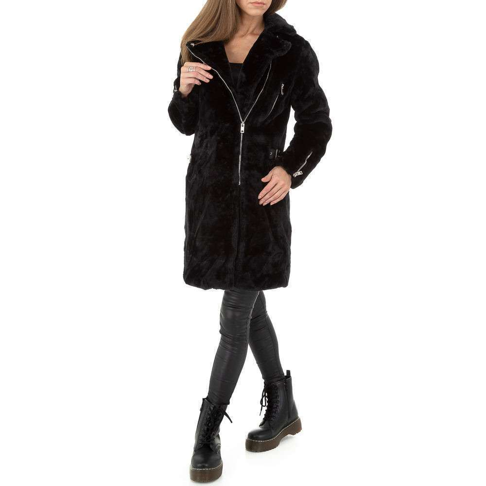 Palton pentru femei by JCL - negru - image 1