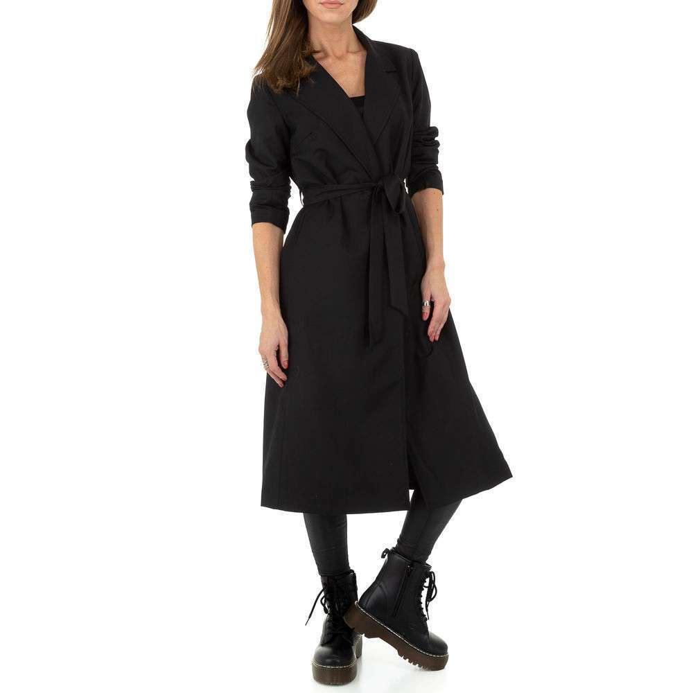 Palton pentru femei by JCL - negru - image 4