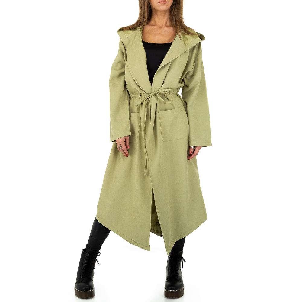 Palton pentru femei de JCL - verde - image 1