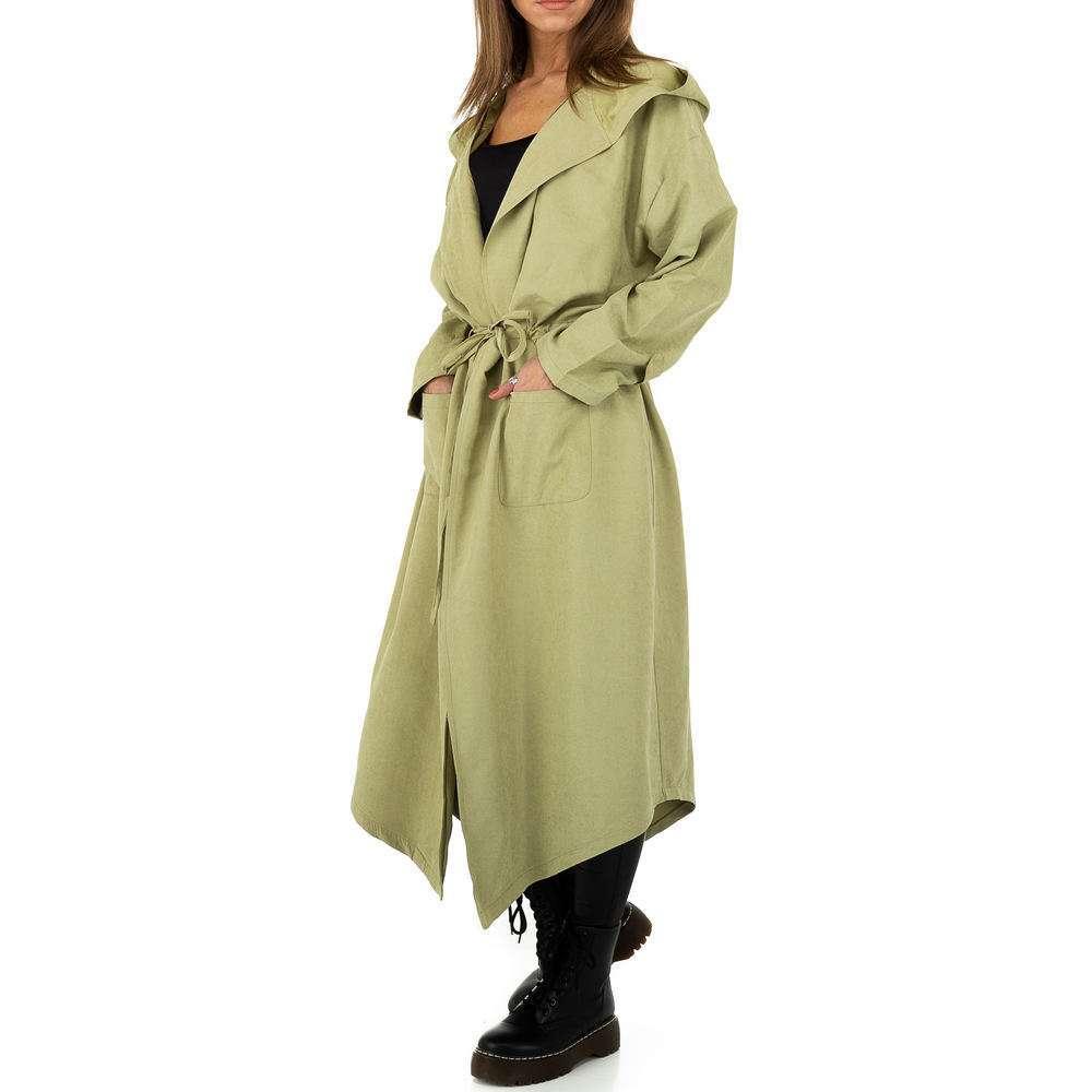 Palton pentru femei de JCL - verde - image 2