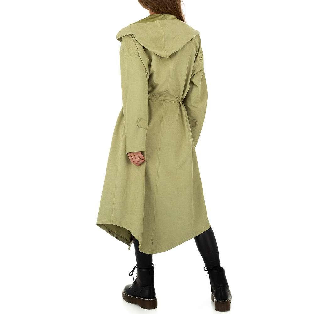 Palton pentru femei de JCL - verde - image 3