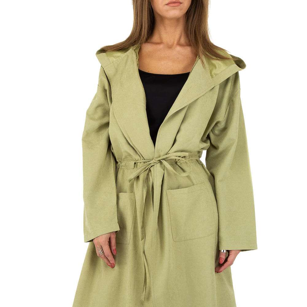 Palton pentru femei de JCL - verde - image 4