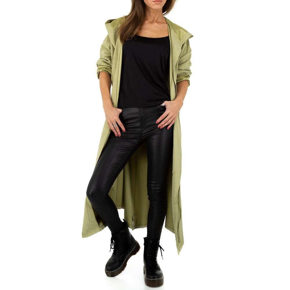 Palton pentru femei de JCL - verde - image 5