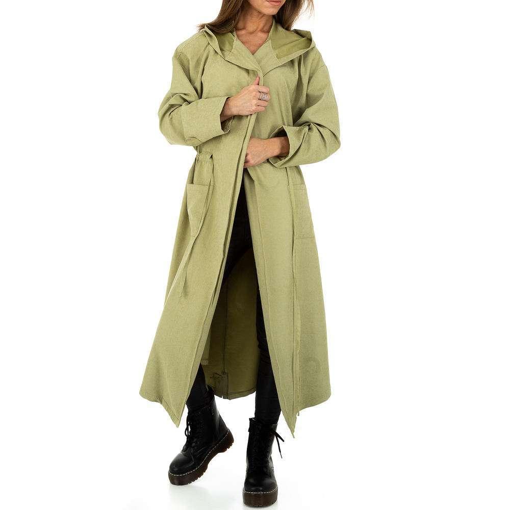 Palton pentru femei de JCL - verde - image 6