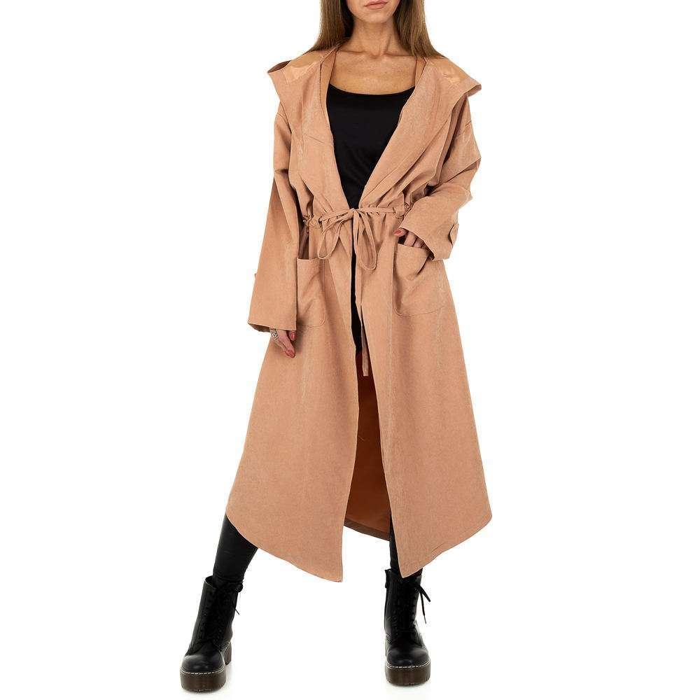 Palton pentru femei by JCL - roz