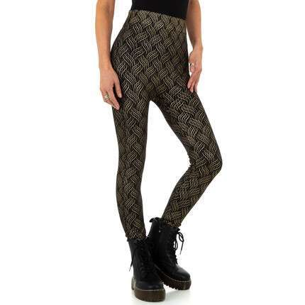Damen Leggings von Holala Fashion Gr. One Size - black