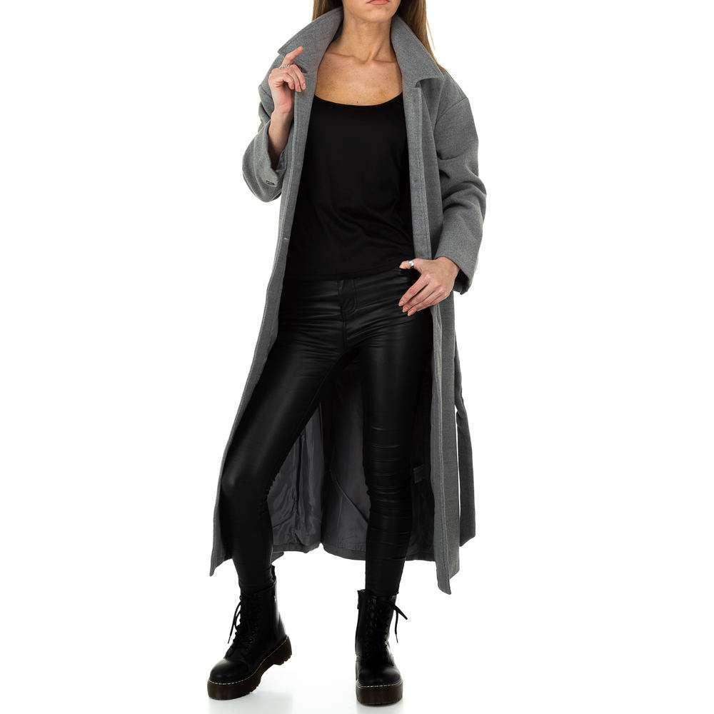 Palton de dama de la Glo storye - gri - image 6