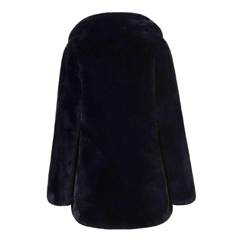 Palton de dama de la Glo storye - negru - image 3