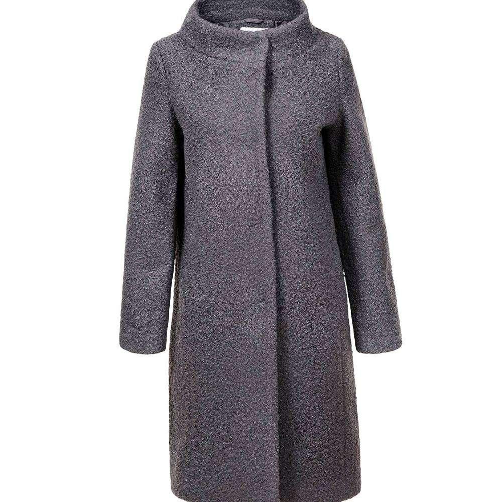 Palton de dama de la Glo storye - gri - image 1