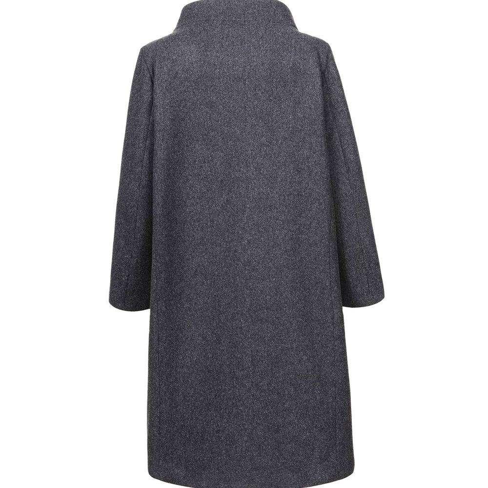 Palton de dama de la Glo storye - gri - image 3
