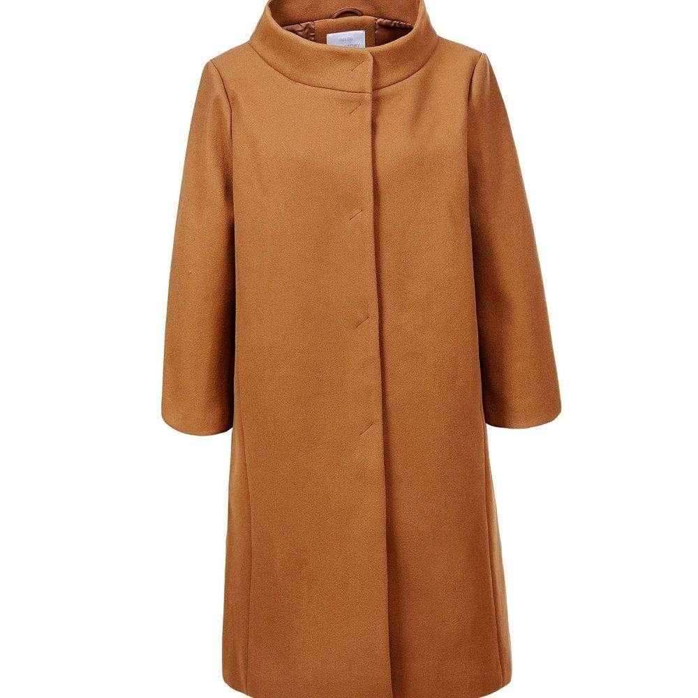 Palton de damă Glo storye - cămilă