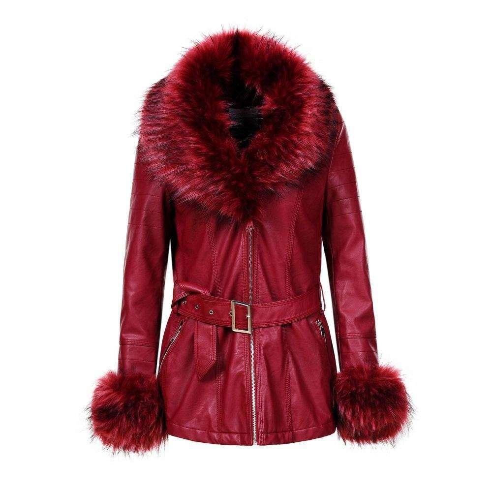 Palton de dama de la Glo storye - vin