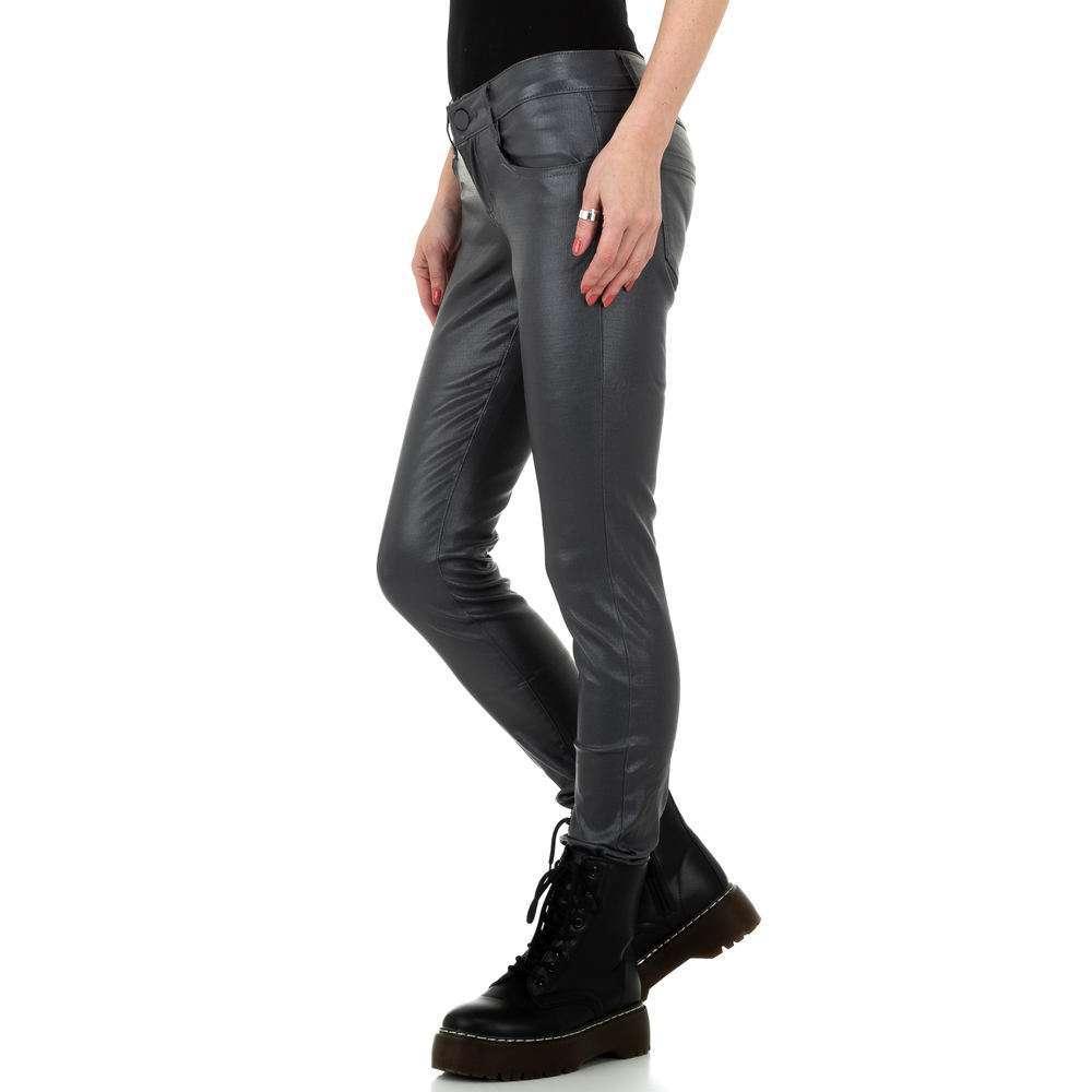 Pantalon femme M.Sara Denim - gris