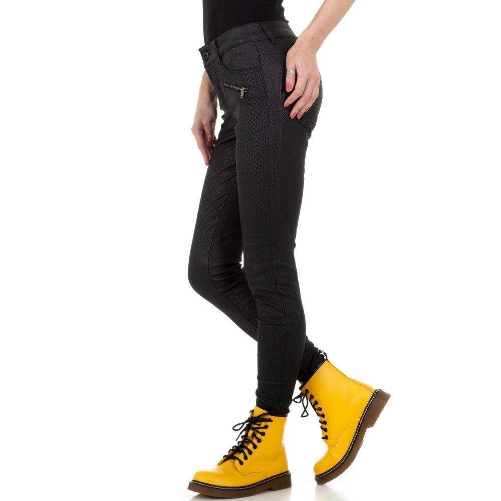 Pantaloni de dama M.Sara Denim - negru
