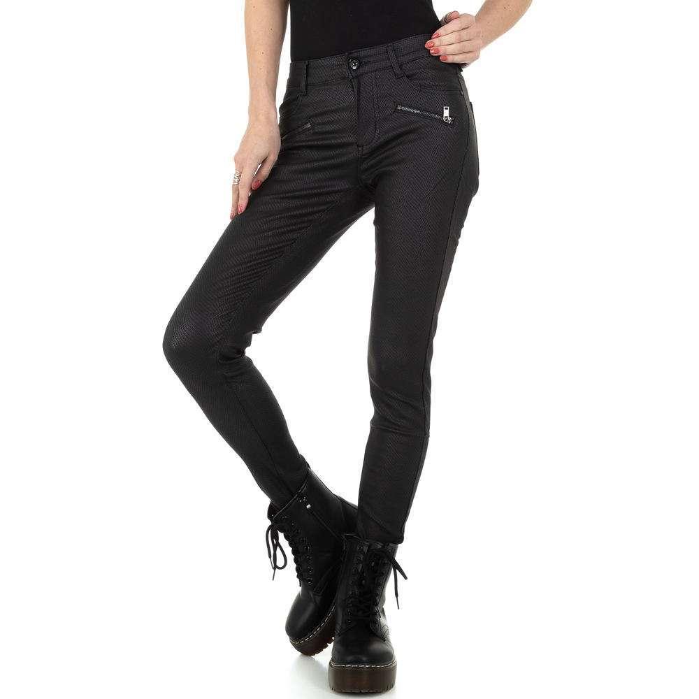 Pantaloni de dama M.Sara Denim - negru - image 1