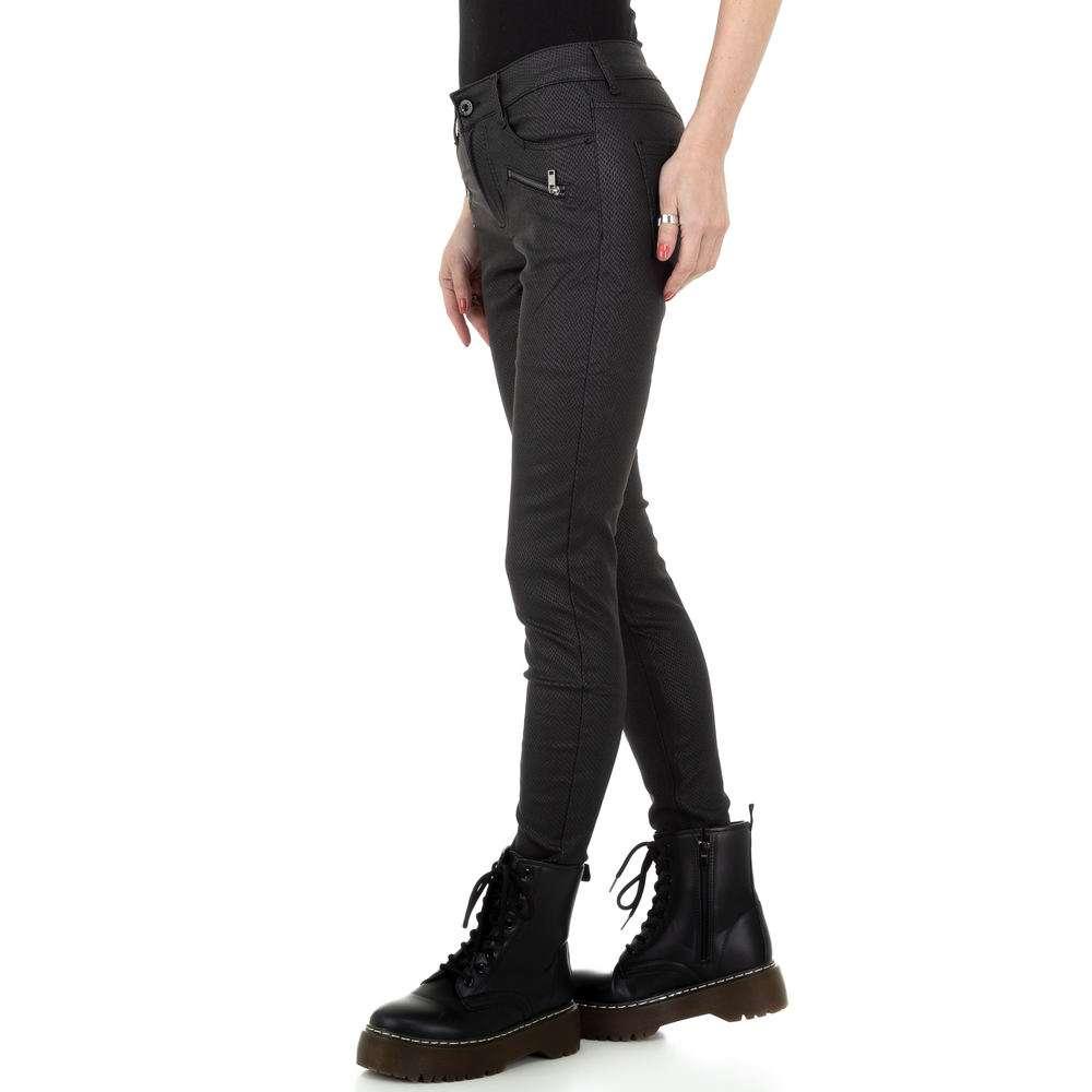 Pantaloni de dama M.Sara Denim - negru - image 2