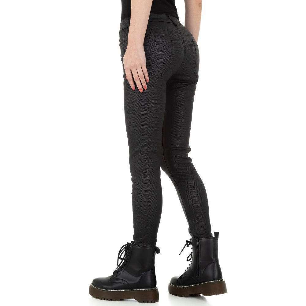 Pantaloni de dama M.Sara Denim - negru - image 3