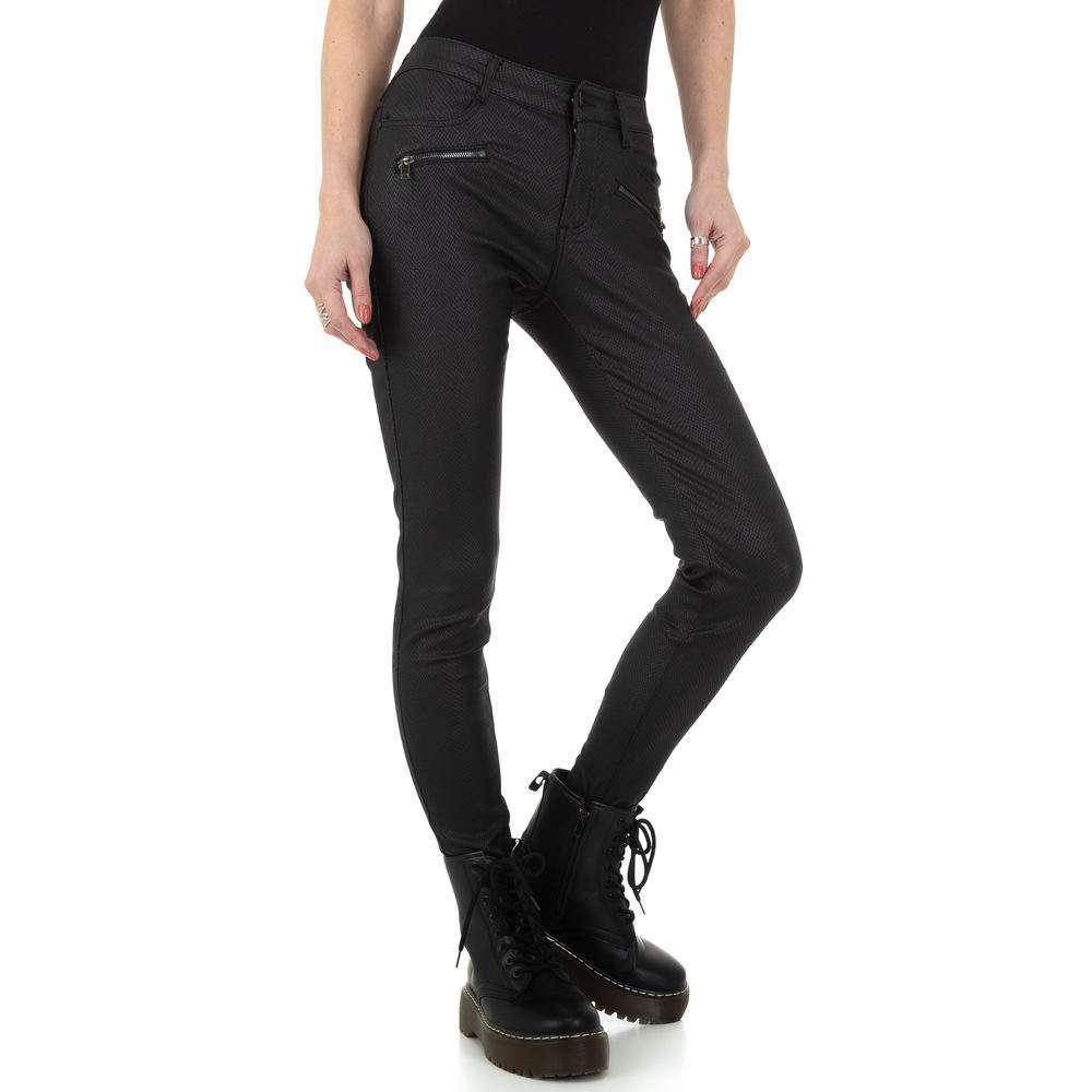 Pantaloni de dama M.Sara Denim - negru - image 5