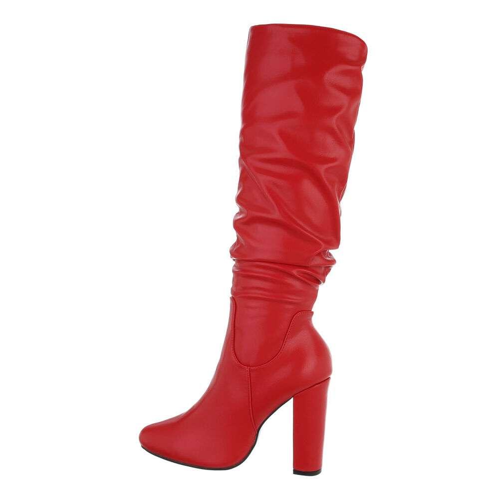 Cizme de damă - roșii - image 1