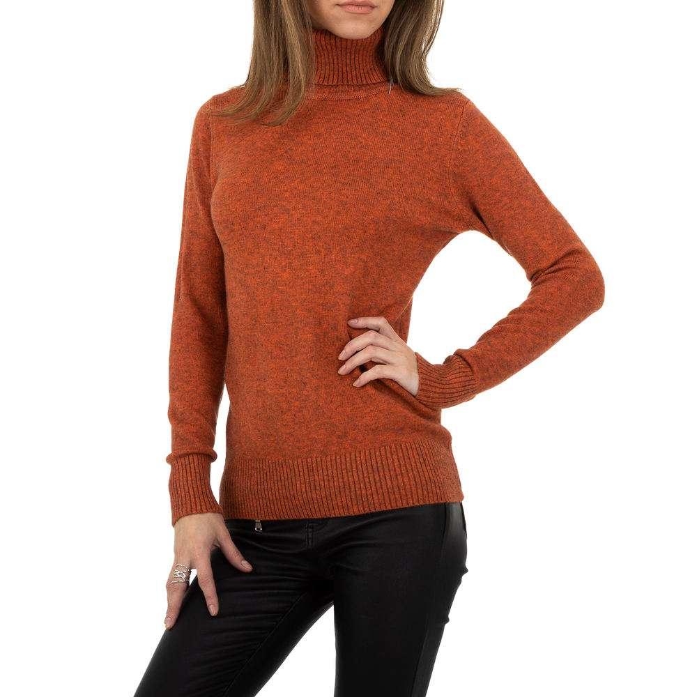 Pulover pentru femei de la Whoo Fashion Gr. O singură mărime - portocaliu - image 1