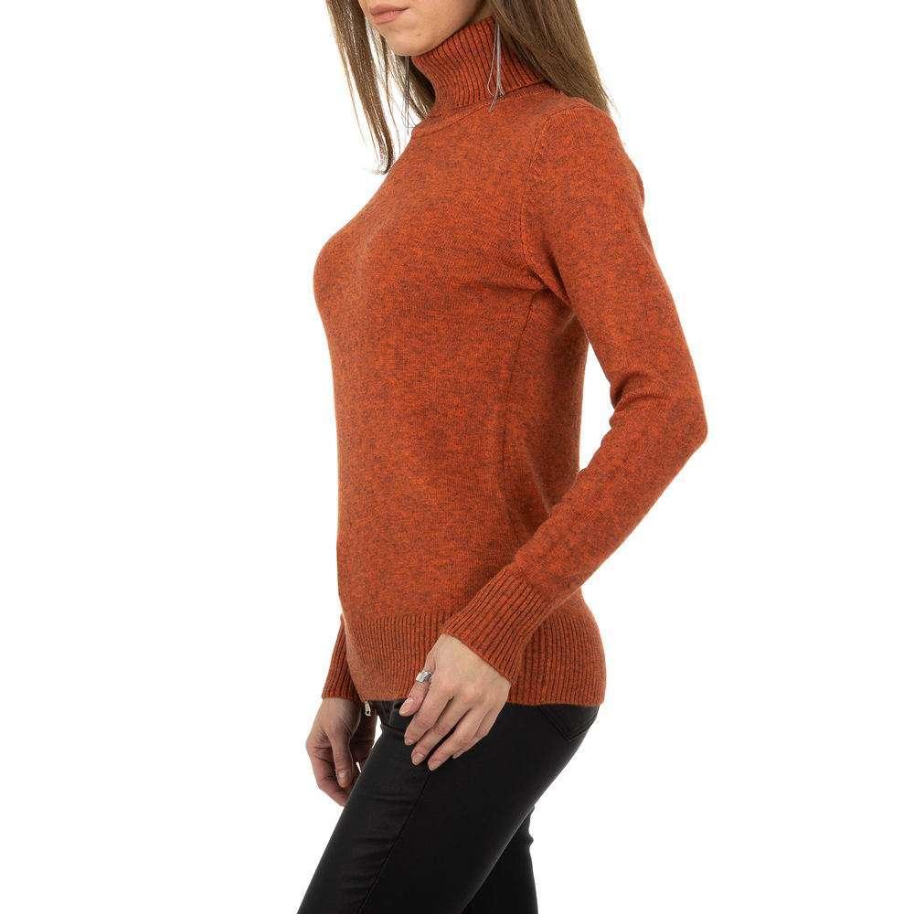 Pulover pentru femei de la Whoo Fashion Gr. O singură mărime - portocaliu - image 2